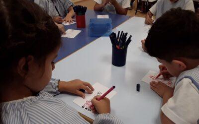 Aprenem a dibuixar la mascota de la classe