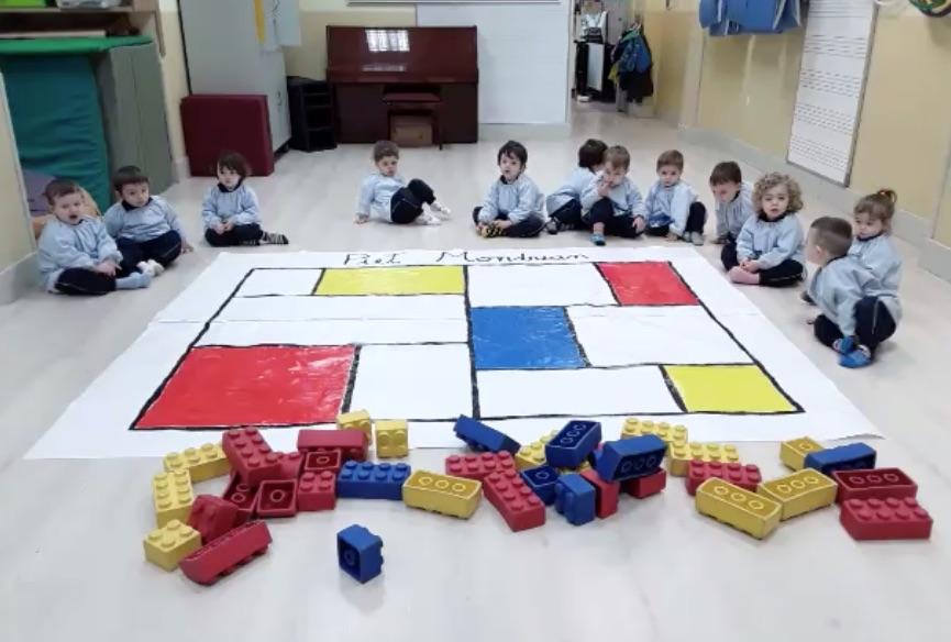 Juguem amb Mondrian!