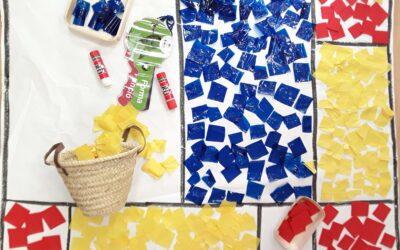 Mondrian, colors i formes!!